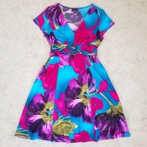 Scarlett Fit & Flare A-line Midi Dress